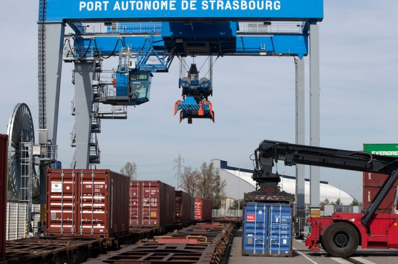 Multi Modal Rail, nouvel acteur dans le transport de marchandises notamment depuis le port de Strasbourg.