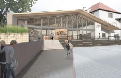 Les domaines Schlumberger investissent dans un nouveau caveau de vente de vins d'Alsace