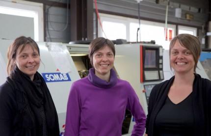 Un trio féminin à la direction des Établissements Cézériat Yves dans le Jura