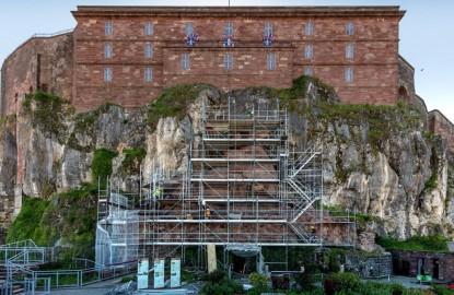 L'année de son centenaire, l'entreprise Albizzati rénove le Lion de Belfort