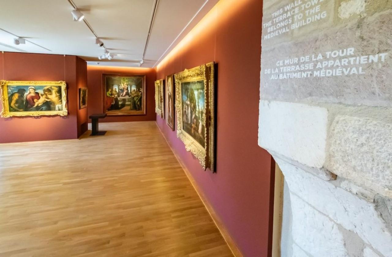 Le musée des Beaux-Arts de Dijon installé dans le palais des ducs de Bourgogne était en travaux depuis 2008. © Bruce AUFRERE / TiltShift