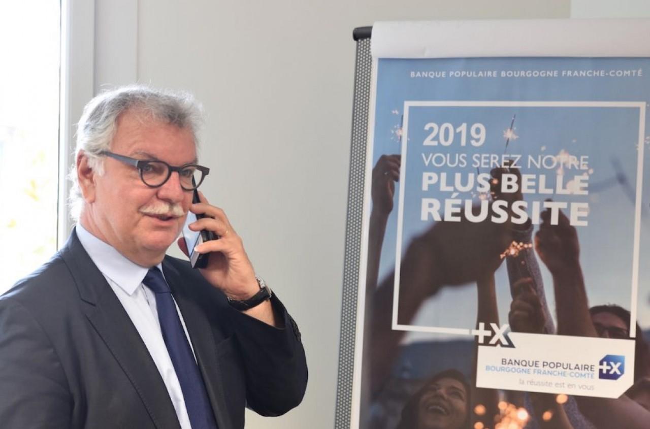 Bruno Duchesne, directeur général de la Banque Populaire de Bourgogne - Franche-Comté.