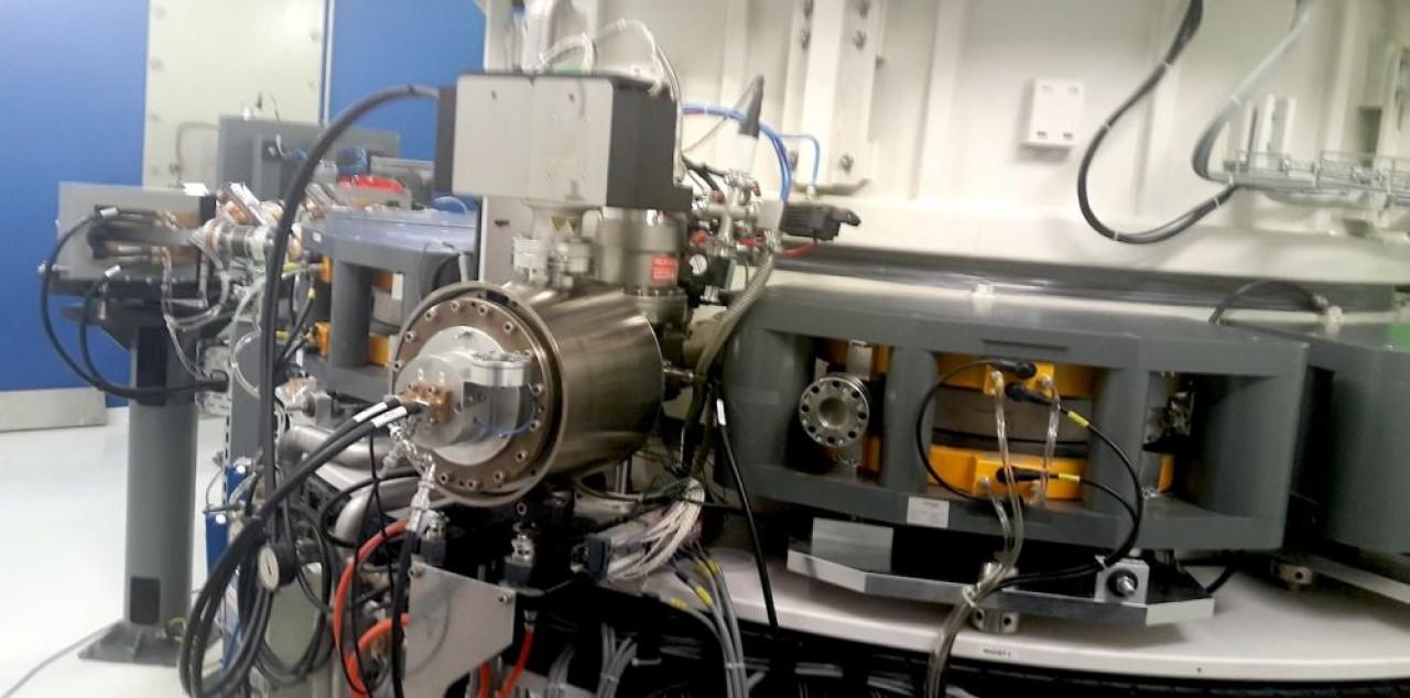 Cet accélérateur d'électrons répond à des besoins d'irradiation industrielle. © Traces Écrites