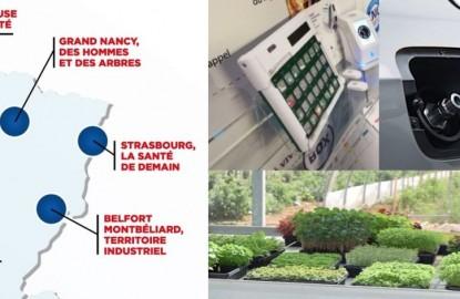 De Dijon à Strasbourg en passant par la Lorraine et Belfort, cinq Territoires d'Innovation de Grande Ambition
