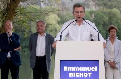 Emmanuel Bichot, candidat Les Républicains (LR), lance la campagne des élections municipales à Dijon