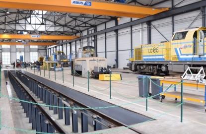 La filière nationale de travaux ferroviaires bien aiguillée à Montceau-les-Mines, en Saône-et-Loire, grâce au MécateamCluster