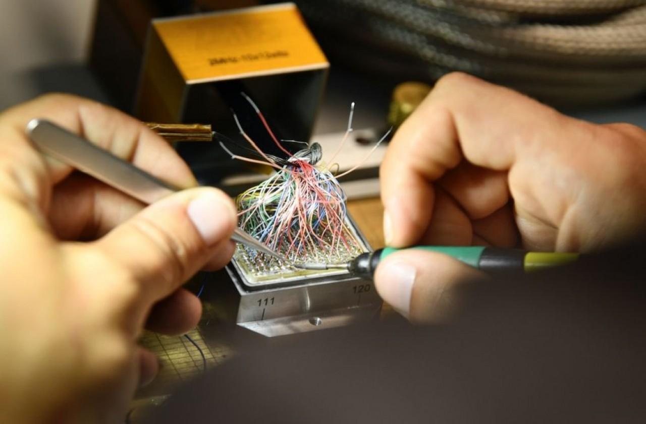 Les sondes à ultrasons fabriquées par Imasonic ont un large domaine d'applications dans le médical : chirurgie notamment, et dans l'industrie, pour le contrôle non destructif de pièces par exemple. © Laurent Cheviet.