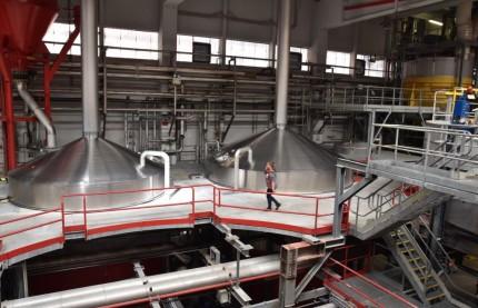 Dans l'antre de l'usine Kronenbourg à Obernai