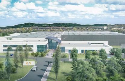 SES-Sterling construit 40 000 m2 pour 33 millions d'euros aux portes de Saint-Louis, à la frontière de l'Allemagne et de la Suisse