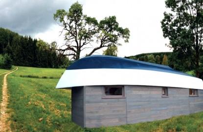 Rêve de Robinson, nouvel habitat de loisirs insolite imaginé par Claude Carignant, le fondateur du loueur de bateaux Les Canalous