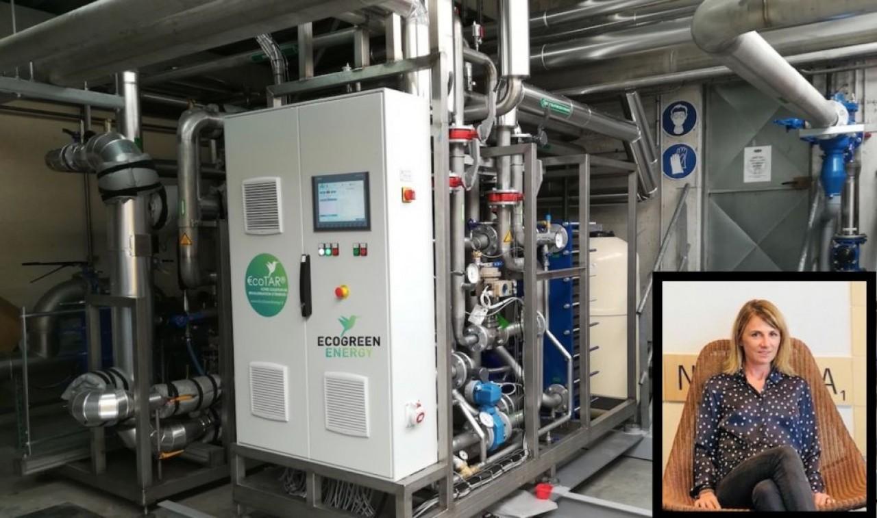 Le métier d'EcoGreenEnergy est de revaloriser la « chaleur fatale » des process industriels, diminuant ainsi leur consommation d'énergie fossile. © EcoGreenEnergy