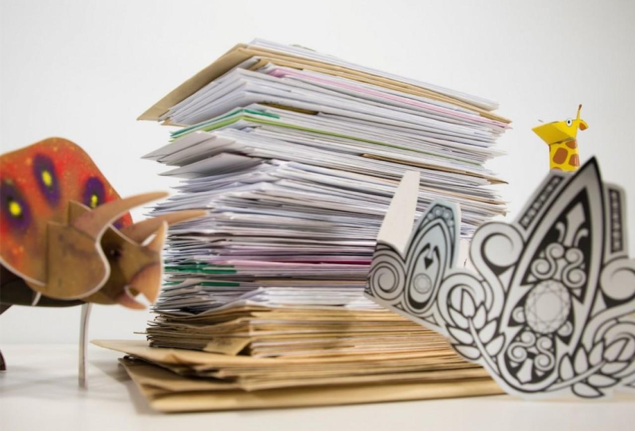 Chez Epopia, 23 salariés sont chargés de l'écriture des histoires, du dessin et de la gestion informatique des courriers qu'ils échangent avec les enfants. © Epopia