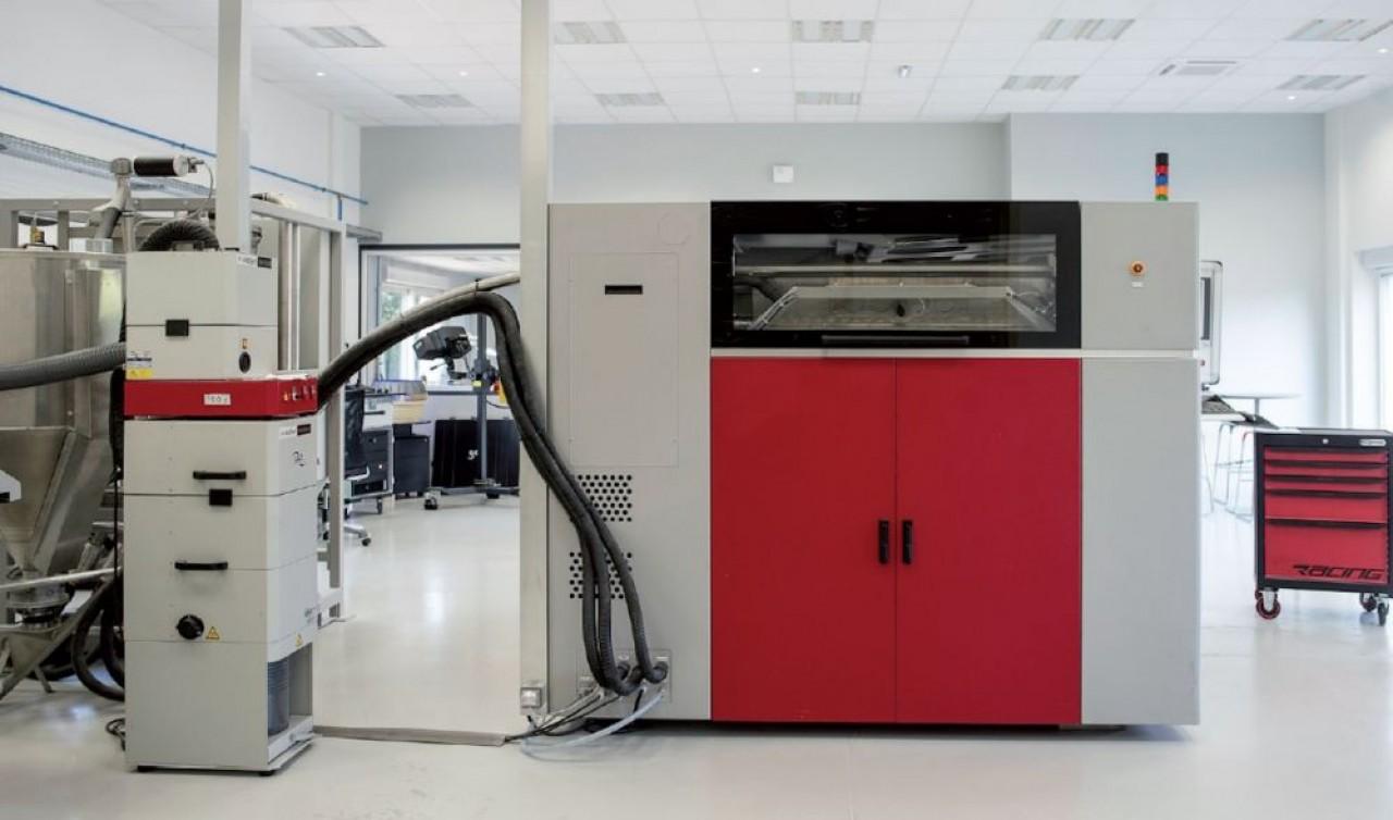 L'imprimante 3D de grande dimension acquise pour 700.000 € par Moules et Outillages de Bourgogne. © MOB
