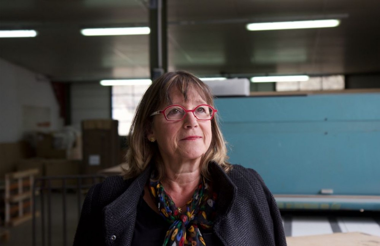 Brigitte Chavériat, présidente de Jurembal depuis 1988 est l'une des soixante entrepreneures de l'édition 2019 du Best of de Traces Ecrites News consacré aux femmes dirigeantes de Bourgogne-Franche-Comté et du Grand est. © Arnaud Morel.