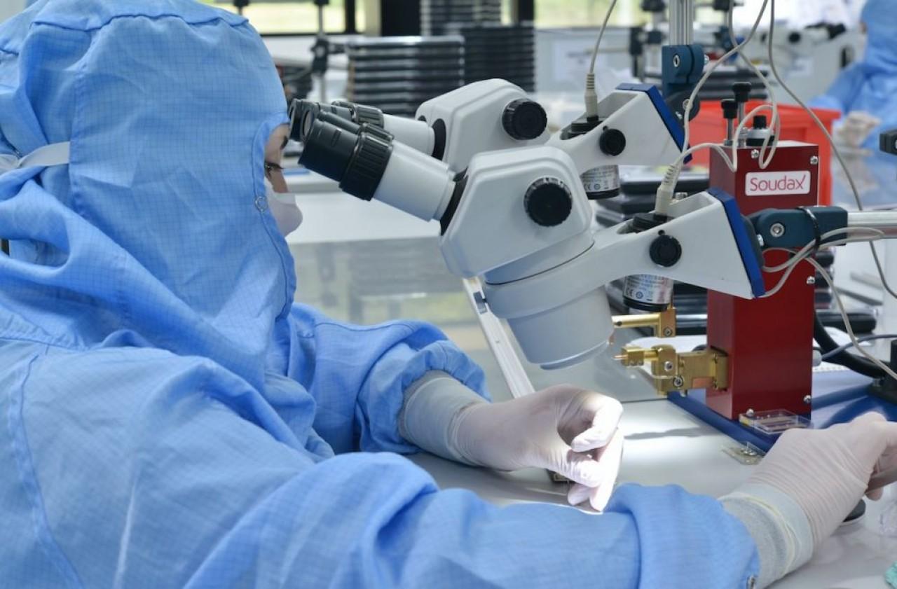 Dixi Medical fabrique des électrodes intracraniennes pour le traitement de l'épilepsie. ©Dixi.