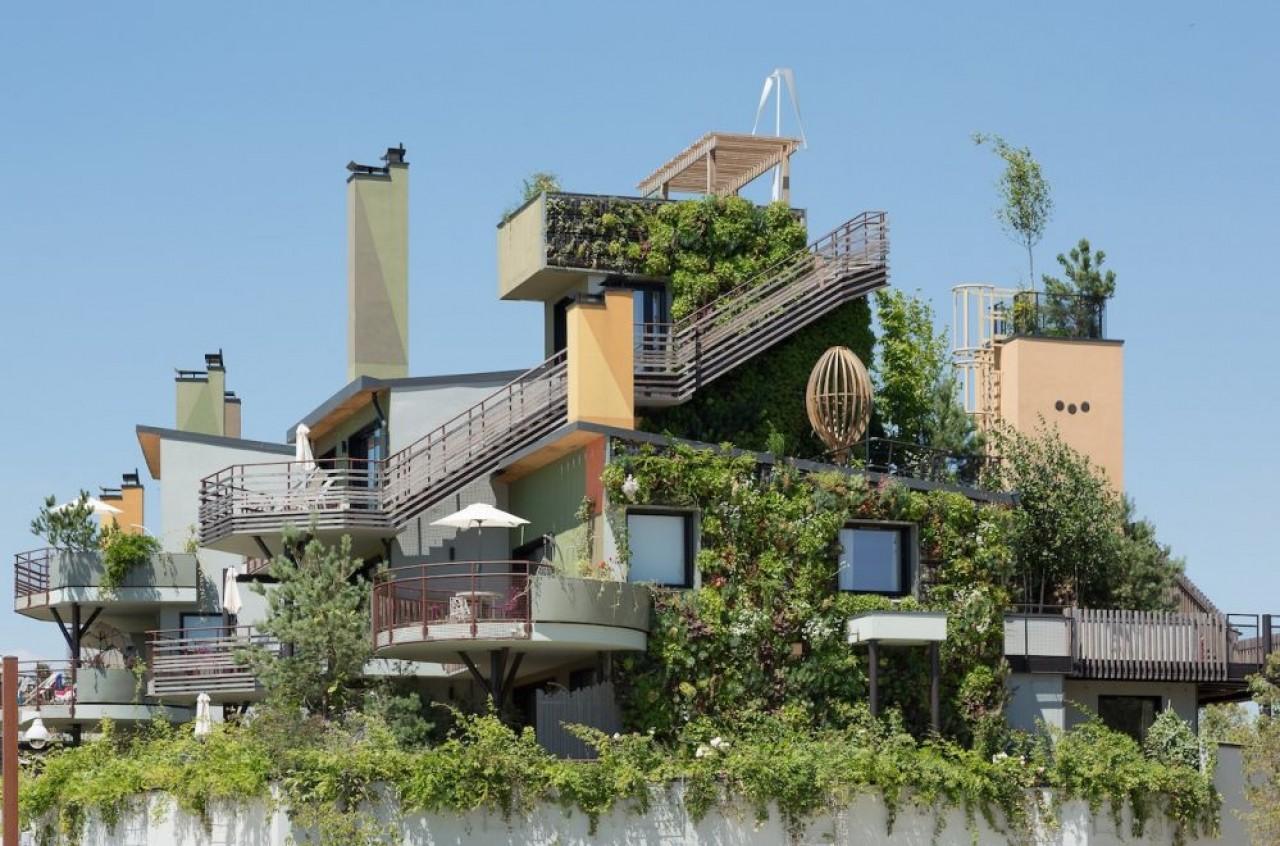 Réalisation de l'entreprise au Village Nature Paris. © Tracer Urban Nature.