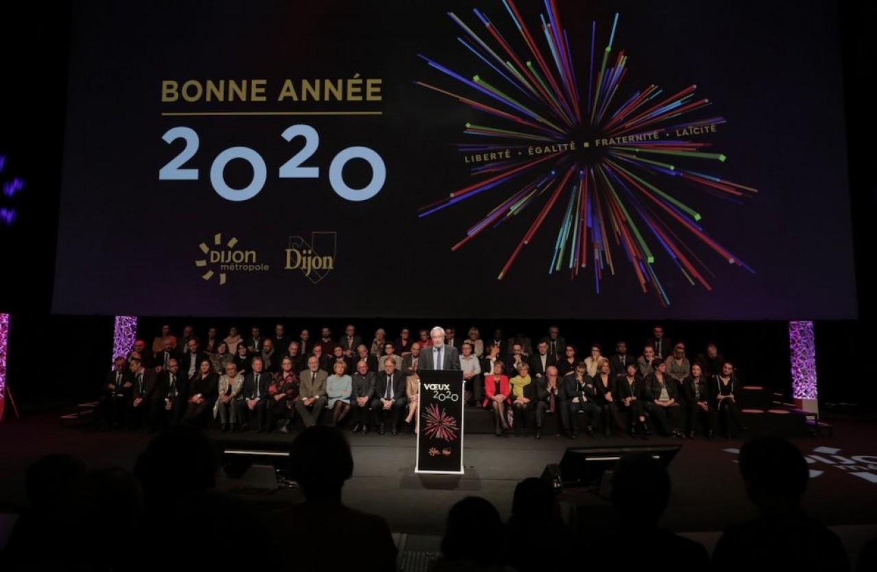 François Rebsamen, maire de Dijon, a annoncé sa candidature à sa succession, ce vendredi soir, au journal télévisé de France 3 Bourgogne. © Ville de Dijon