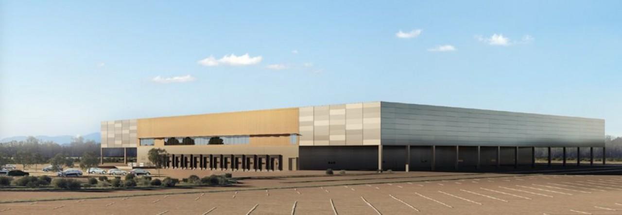 Le promoteur immobilier d'entreprise toulousain va construire près de 10.000 m2 d'entrepôts sur l'Aéropac de Fontaine, au nord de Belfort. © Vectura