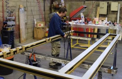 Dans le Pays de Montbéliard, la métallerie Antonietti reprend vie avec l'Alsacien DZ Aluminium