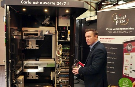 À Nancy, les distributeurs de pizzas d'Api Tech commencent à s'exporter