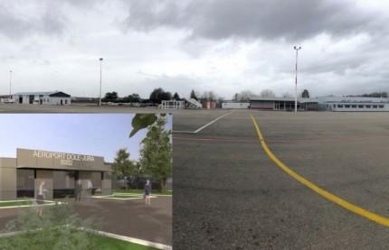 Aéroport Dole - Jura : la Région Bourgogne-Franche-Comté n'embarque pas avec le département du Jura