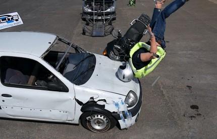 Innovation : Helite ajoute de l'électronique à ses airbags moto