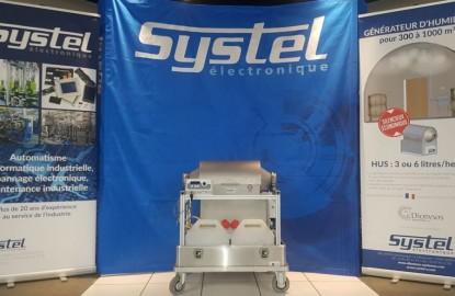 Systel Electronique, en Saône-et-Loire, a mis au point un appareil de désinfection contre le Covid-19