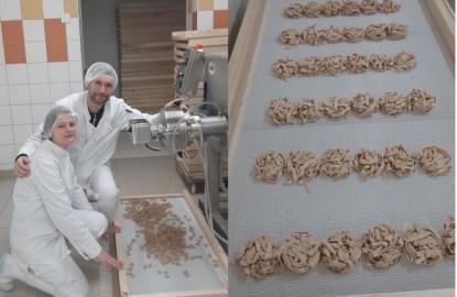 Avec le confinement, le tout jeune fabricant franc-comtois de pâtes artisanales, Juju Pasta, a dû revoir sa stratégie de vente