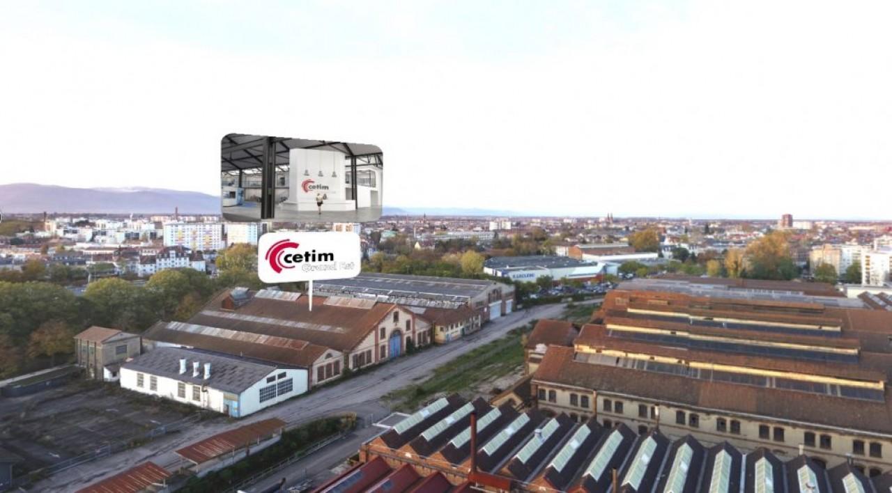 Le Centre technique des industries mécaniques (Cetim) va s'installer en 2024, dans un ancien atelier de la SACM, sur le site de la Fonderie à Mulhouse. © m2A