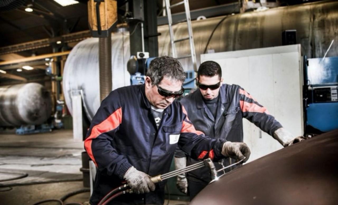 La métallurgie est l'un des principaux secteurs d'activité de l'industrie. Photo prise  avant la pandémie du Covid-19. © Christian Morel.