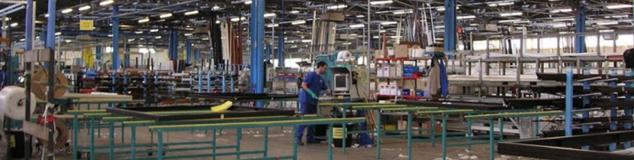 L'usine de SNM Alu Industrie à La Bresse (Vosges), l'un des outils industriels du groupe Tryba. © Atrya