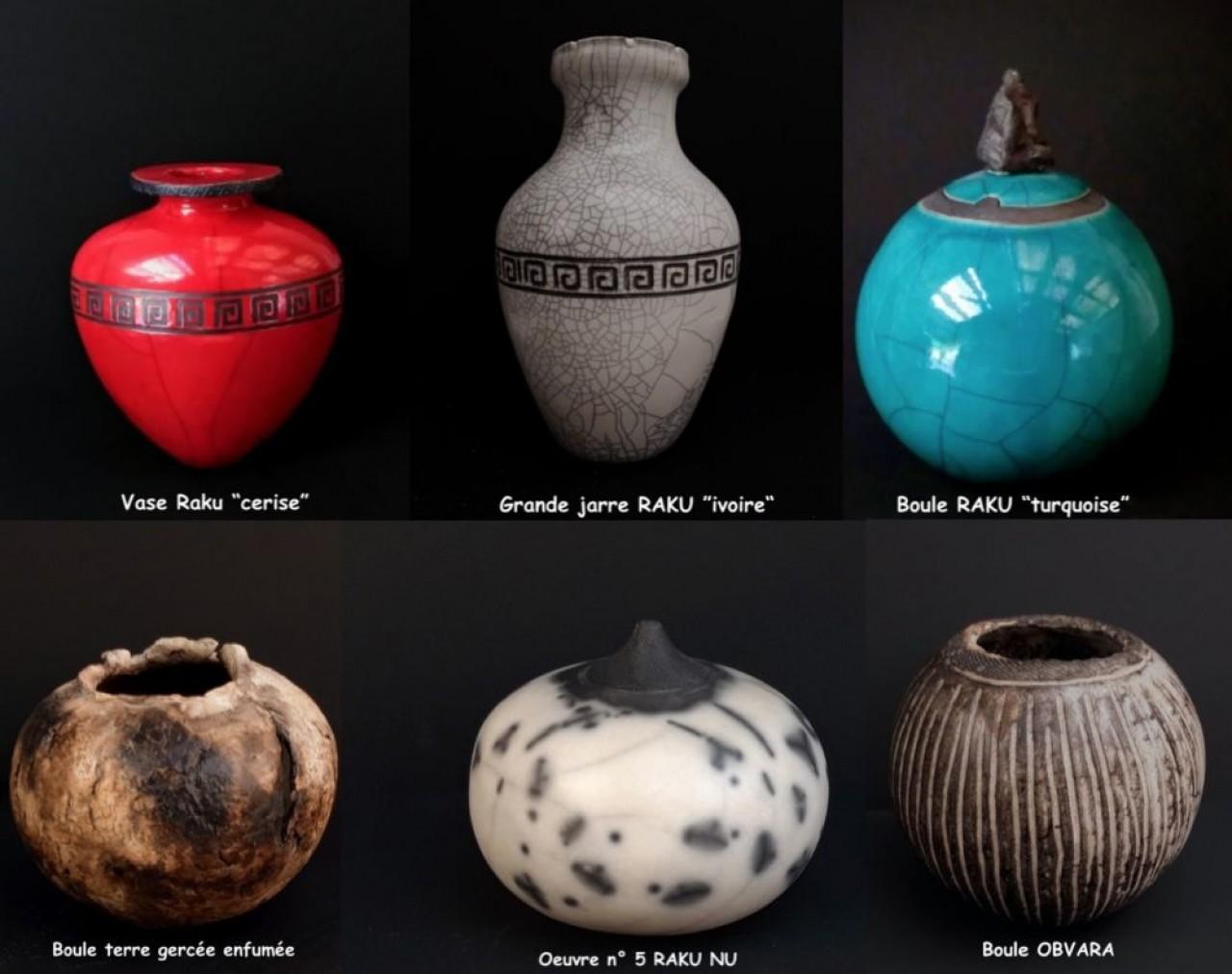 Panorama des techniques céramiques mises en ouvre par Christian Feyl dans son atelier L'Emaux pour le dire.