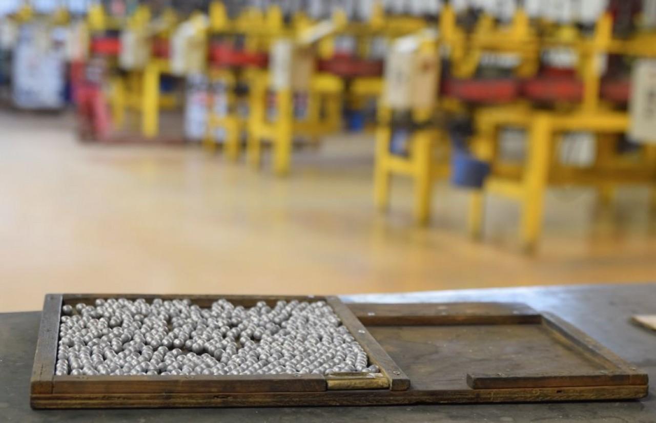 Miniabilles fabrique des billes pour les roulements dans un alliage de carbure de titane que la petite entreprise a mis au point. © Traces Ecrites