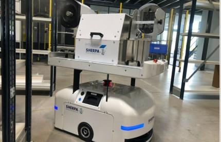 En Alsace, Norcan défie la baisse des commandes  de l'industrie en développant un robot désinfectant