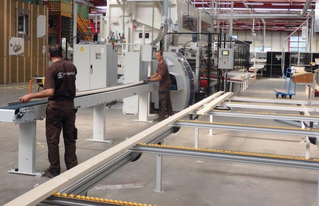 Techniwood a continué à produire pendant les premières semaines de confinement dans la mesure de la disponibilité de ses composants.