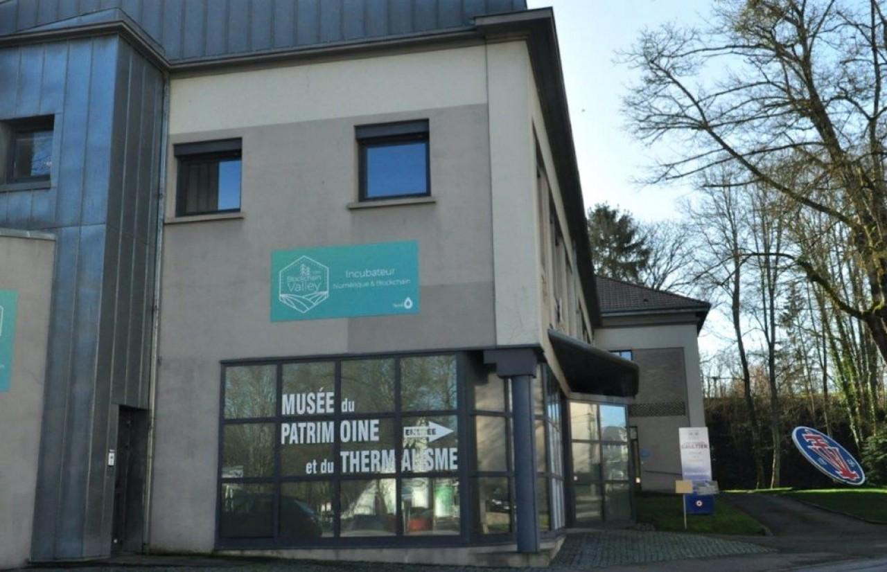 L'incubateur de start-up de Vittel accueille les entrepreneurs dans 350 m² de bureaux voisins du parc thermal. © Philippe Bohlinger