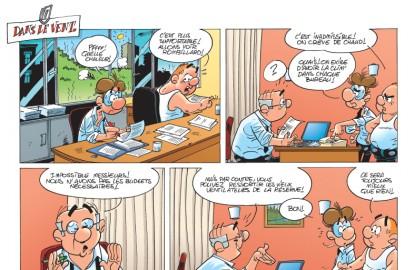 Les Fonctionnaires, épisode du tome 6 :  les effets bénéfiques de la canicule au bureau