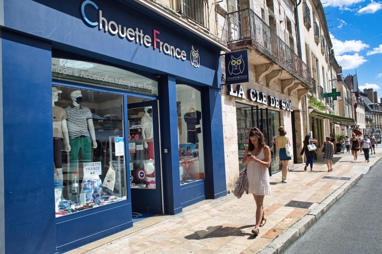 La boutique Chouette France est installée au coeur de Dijon et sur un axe commerçant. © Arnaud Morel