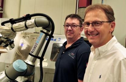 La PME lorraine BW Industrie concourt à l'avènement du robot collaboratif avec Robotindus