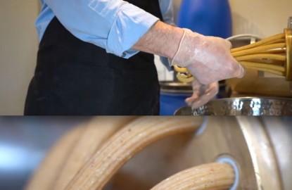 Samuel Zunino, en Haute-Marne : L'homme à la casquette et ses mille et une pâtes