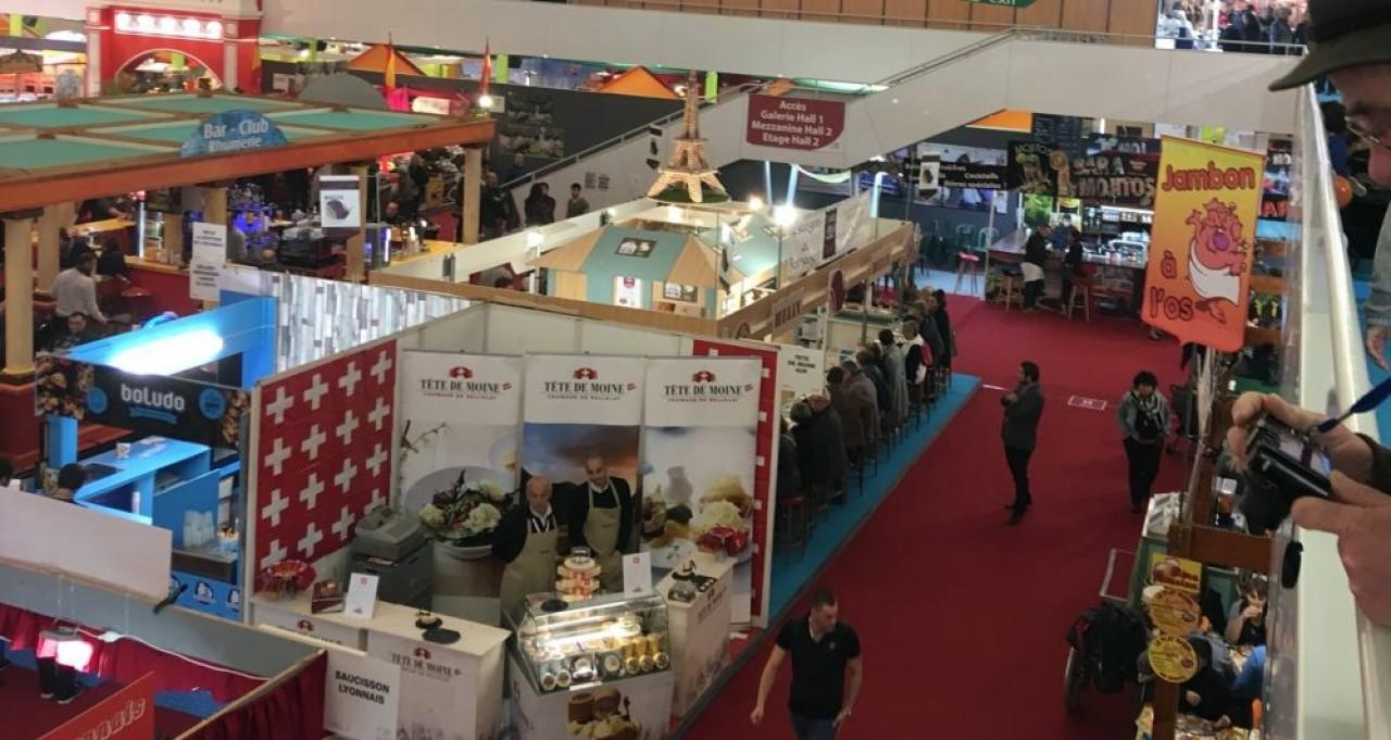 La foire internationale et gastronomique de Dijon généèree 60% du chiffre d'affaires de DijonCongrexpo. © Traces Ecrites