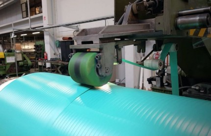 En Alsace, Hannecard donne l'accent belge aux rouleaux industriels