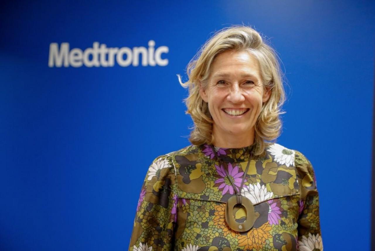 Laure Viellard, directrice de  l'École Supérieure des Technologies et des Affaires (ESTA), implantée à Belfort. © Michaël Desprez/ESTA