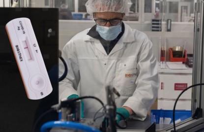 Tests antigéniques de dépistage de la Covid-19 : A Strasbourg, les fabricants croulent sous les demandes