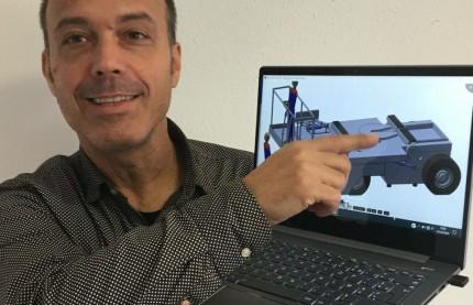 Le coin des start-up : SP-Trailer à Belfort veut rendre les remorques aussi faciles à déplacer qu'un bus