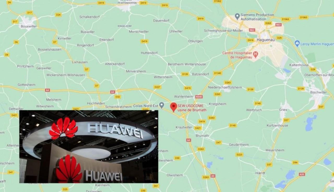 Le chinois Huawei va installer une usine de composants pour les réseaux téléphoniques, sur le Business Parc de Brumath, près d'Haguenau pour un investissement de 200 millions d'€.
