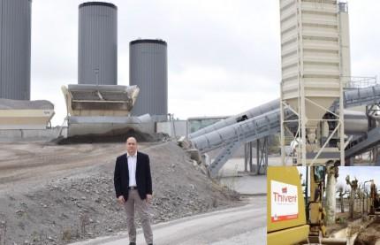 L'entreprise de travaux publics Thivent, en Saône-et-Loire, Prix Moniteur de la construction