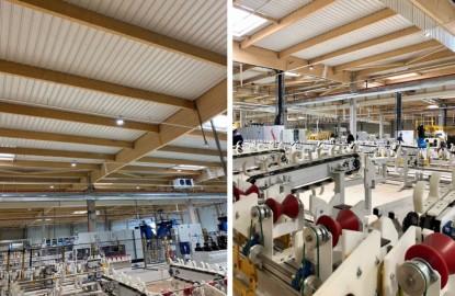 Construit par le promoteur dijonnais LCDP, le nouvelle usine de Vallourec Umbilicals à Venarey-les-Laumes bientôt vendue à une société d'économie mixte