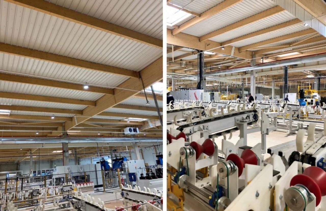 Vallourec Umbilicals a emménagé cet été dans une nouvelle unité de production de 8.500 m2 à Venarey-les-Laumes. © LCDP