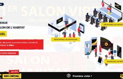 Cette année, le salon de l'habitat de Dijon est 100% virtuel